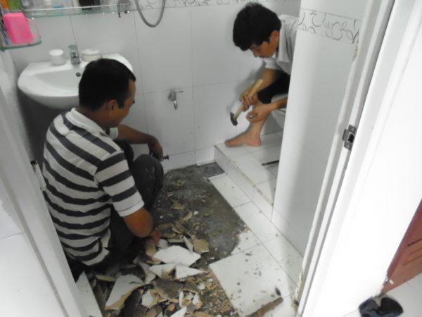 Dịch vụ chống thấm cho nhà tắm