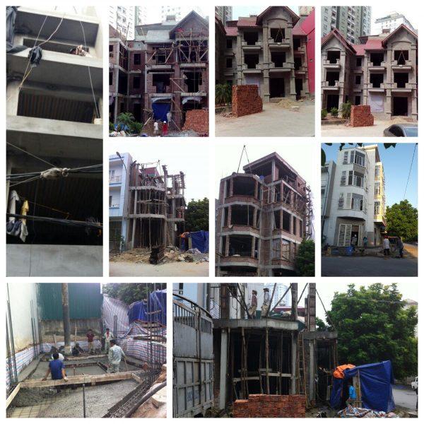 Quá trình xây nhà diễn ra như thế nào