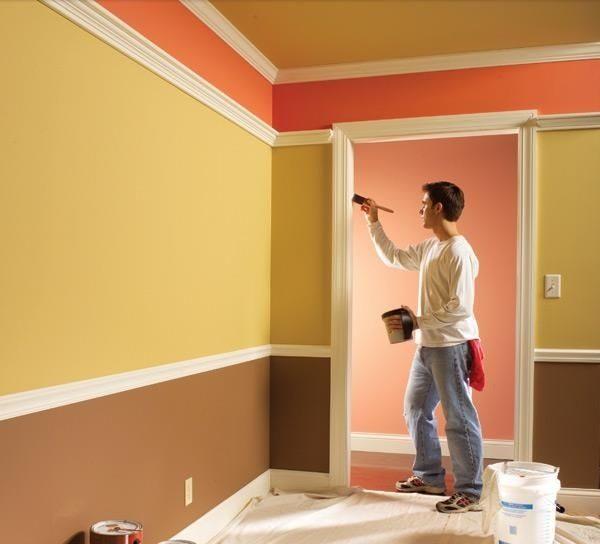 Kỹ thuật sơn nhà đẹp, tiết kiệm cho người không có kinh nghiệm