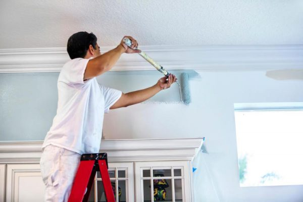 Cải tạo màu sơn cho tường nhà