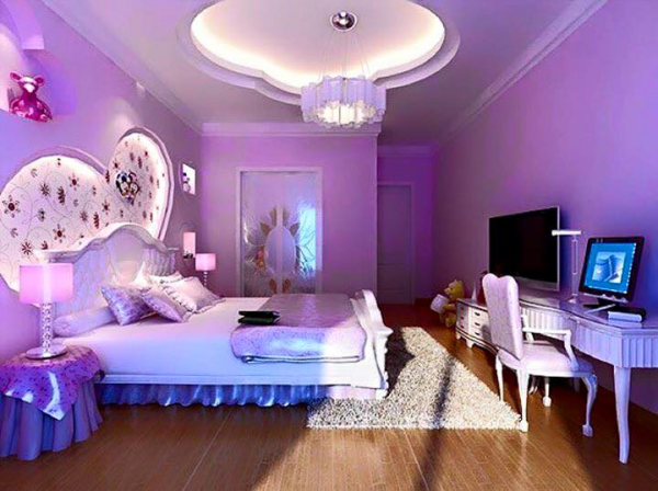 Phòng ngủ lãng mạn cho vợ chồng mới cưới