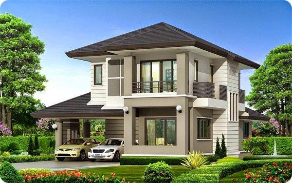 Tư vấn xây nhà 2 tầng dưới 1 tỷ với mẫu thiết kế hiện đại