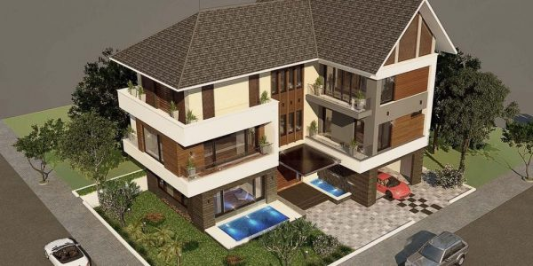 Chi phí xây biệt thự 3 tầng 2020