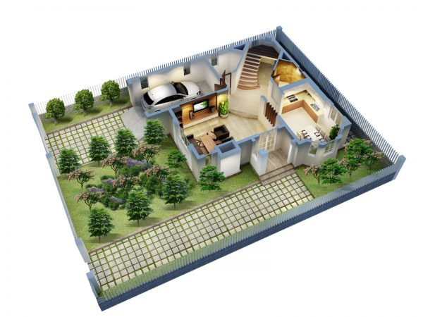 Thi công xây dựng nhà biệt thự sân vườn đẹp cần chú ý điều gì?