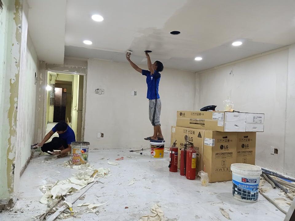 Báo giá sửa chữa nhà tại Hà Nội
