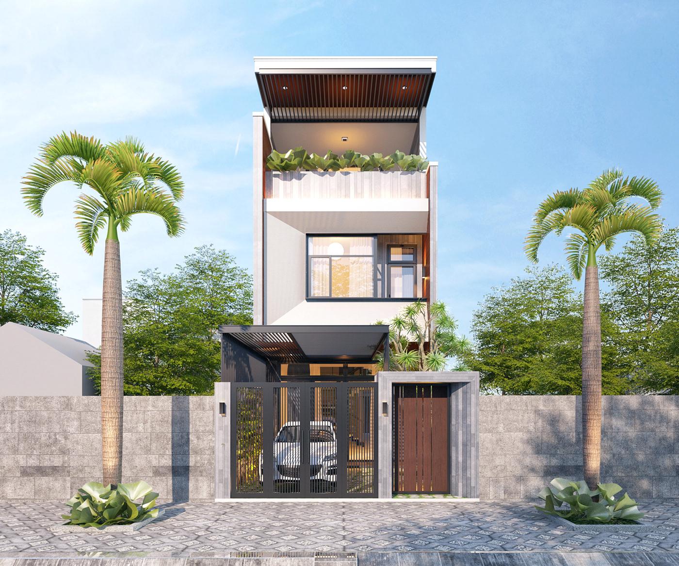 Xây dựng nhà phố kiểu mới 2020