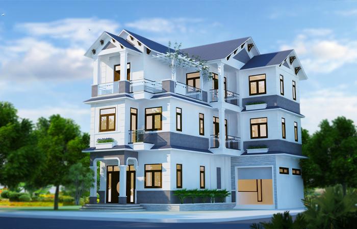 Biệt thự tại Hà Nội xây dựng