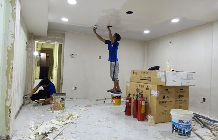 Dịch vụ sử chữa nhà khu vực Hà Nội