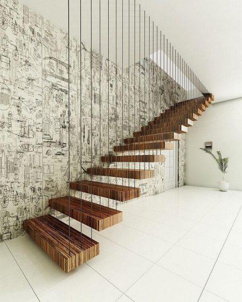 Những điều kiêng kỵ trong thiết kế cầu thang
