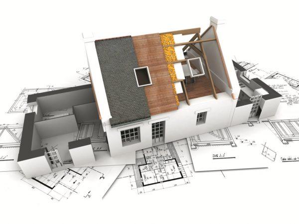 Thiết kế ngôi nhà trên bản vẽ