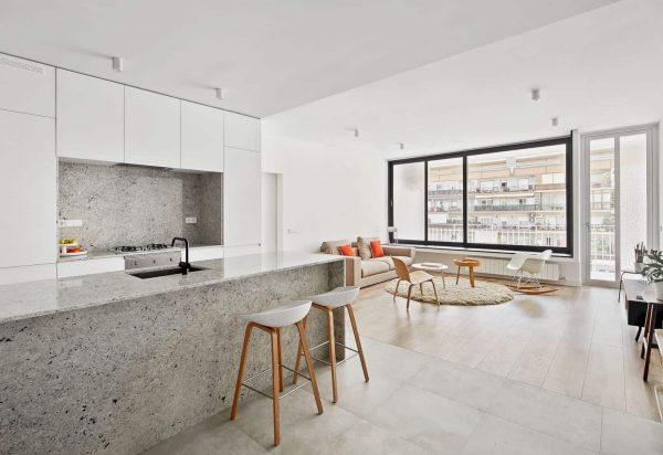 Thiết kế căn hộ chung cư ấn tượng