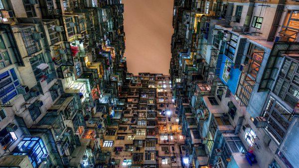 Mật độ xây dựng nhà phố
