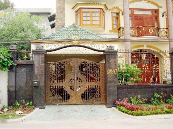 Những điều kiêng kị khi xây cổng