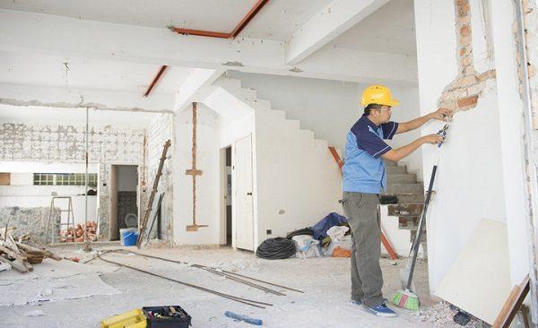 Các hạng mục xây thô đối với biệt thự