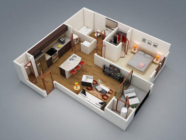 Thiết kế xây nhà nhỏ 40m2 đẹp không tưởng, tiết kiệm chi phí