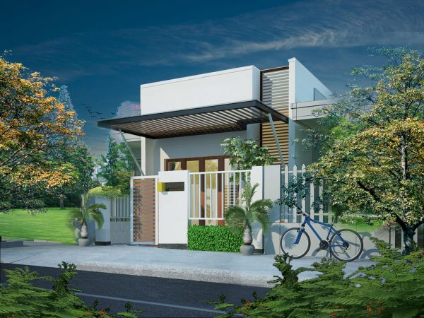 Thiết kế ngôi nhà cấp 4