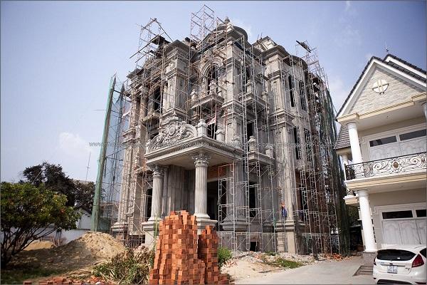 Quy trình các bước hoàn thiện nhà xây thô