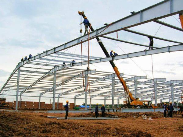Quy trình xây nhà xưởng với thời gian tiết kiệm chi phí, thời gian